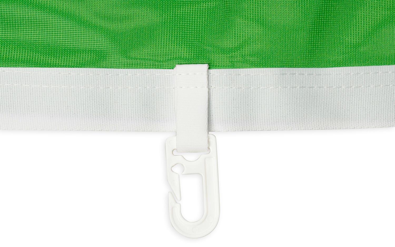 Flagi - wykończenie na maszt