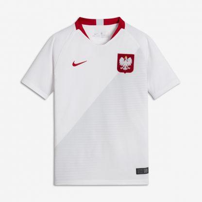 Koszulka reprezentacji Polski biała Nike 2018