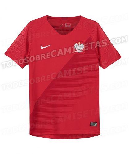 Koszulka reprezentacji Polski czerwona Mundial 2018 (Nike)