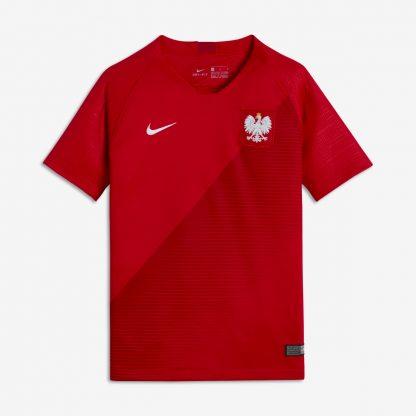 Koszulka reprezentacji Polski czerwona Nike 2018