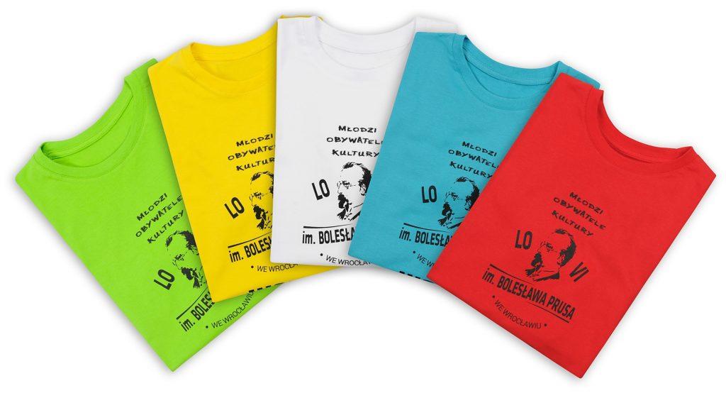 Koszulki z nadrukiem - sitodruk