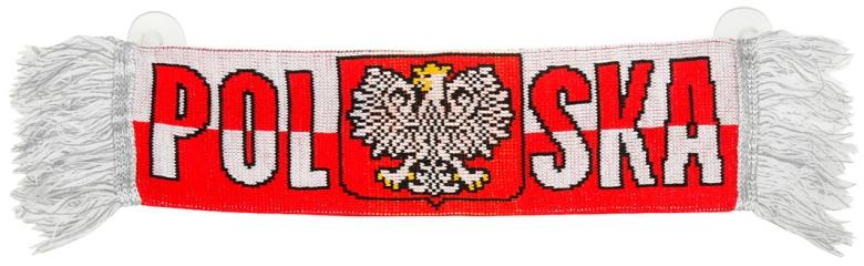 Mini szalik dziany Polska
