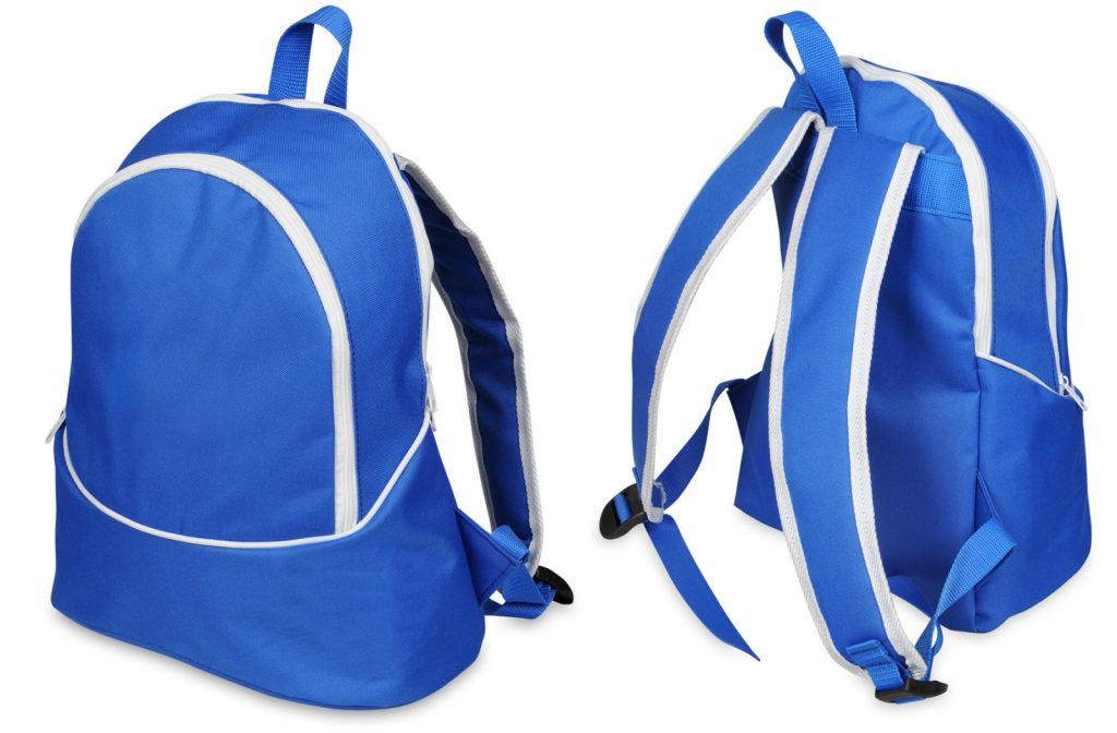 Plecak niebieski na zamówienie